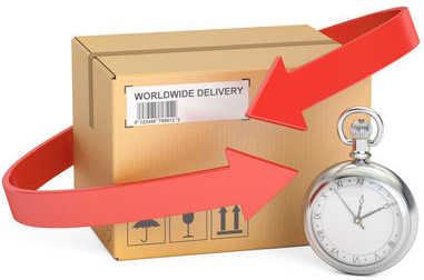 délais de livraison Colissimo par pays