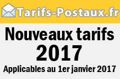 tarifs postaux 2017 tarif poste et colis. Black Bedroom Furniture Sets. Home Design Ideas